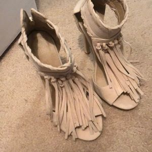 Shoes - Fringe Heels